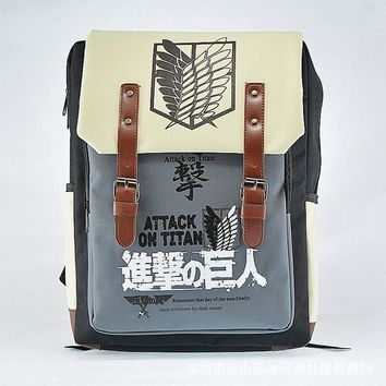 Cool Attack on Titan  Bag Backpack no  Legion Bag Wings of dom Schoolbag AT_90_11