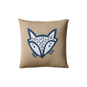 Fox Pillow Cover | Serena & Lily