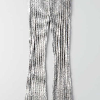 AEO Soft & Sexy Plush Flare Pant, Gray