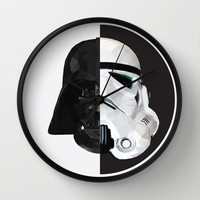 STAR WARS Wall Clock by MGNFQ