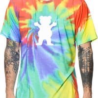 Diamond Supply Co x Grizzly Digi Tie Dye Tee Shirt
