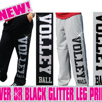 Glitter Volleyball Sweatpants