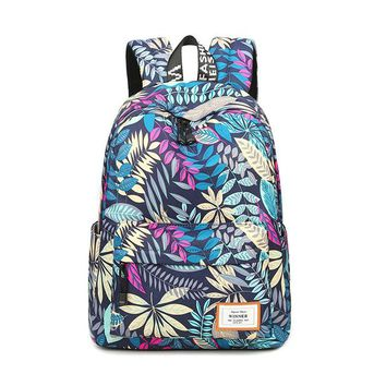 Girls Waterproof School Backpacks