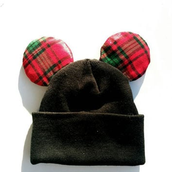 Christmas Mickey Mouse Beanie