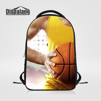 University College Backpack Dispalang Men Laptop Notebook Bags For Traveling Customize Soccers   Male Fashion School Bag Boys Daily DaypacksAT_63_4