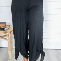 Back To The Beach Pants - Black