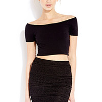 FOREVER 21 Lady Lace Mini Skirt