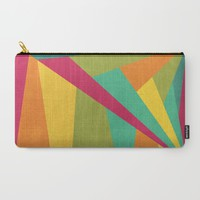 Flashing Lights Carry-All Pouch by VessDSign