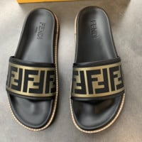 FENDI Sandal Slipper Shoes Summer Vacation Holiday Beachwear