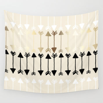 Arrows Wall Tapestry by Tangerine-Tane
