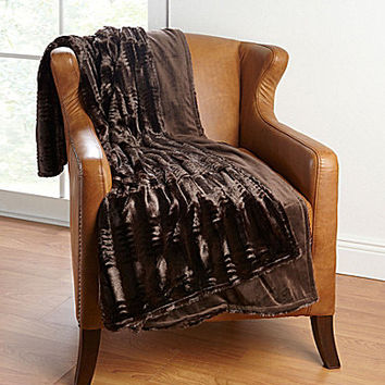 Nobility Beckham Faux Fur Throw