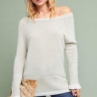 Flores Off-The-Shoulder Sweater
