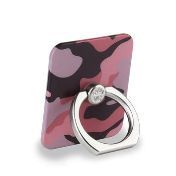 Dusty Rose Camo Phone Ring