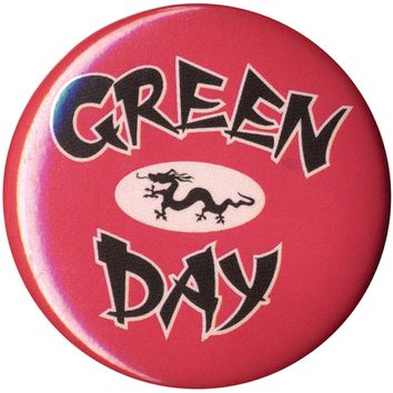 Green Day - Dragon Button