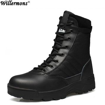 Outdoor Army Boots / Military Tactical Shoes