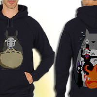My Neighbor Totoro Collage American populer hoodie mens and hoodie women
