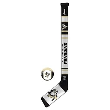 Franklin Sports NHL Pittsburgh Penguins Soft Sport Hockey Set
