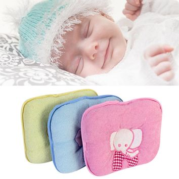 Elephant Baby Infant Memory Pillow Prevent Skew Head Toddler Bedding Newborn Soft Neck Pillow