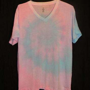 Pastel Cotton Candy Tie Dye T-Shirt