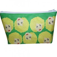Dolly Parton Pop Zipper Pouch and Makeup Bag – Illustrated and Handmade in the USA