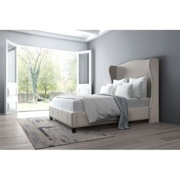 Enlightenment King Bed Beige