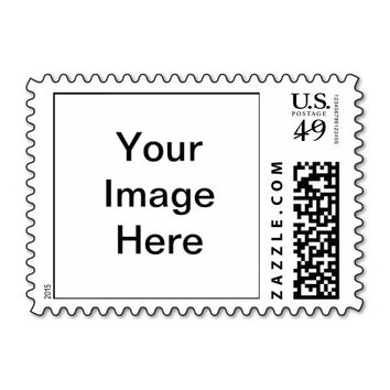 Design Your Own Custom Photo Postage Stamp