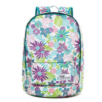 Fresh Flower Waterproof Backpack