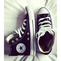 """Converse"" Women Men Fashion Canvas Flats Sneakers Sport Shoes"