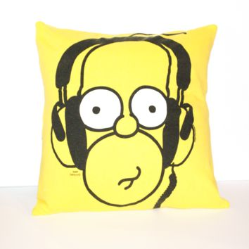 Homer Simpson Pillow