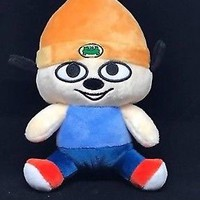 PaRappa Classic Stubbins Plush PaRappa the Rapper Orange Beanie