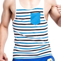 Men's Tank Tops Fashion Cotton Man Sleeveless Undershirts Male Bodybuilding Tank Tops Casual Summer Vest