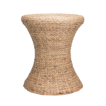 Household Essentials Ml-4100 Hourglass Water Hyacinth Wicker Table