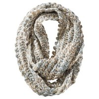 Mossimo Supply Co. Marled Infinity Loop Scarf - Ivory/Tan/Green
