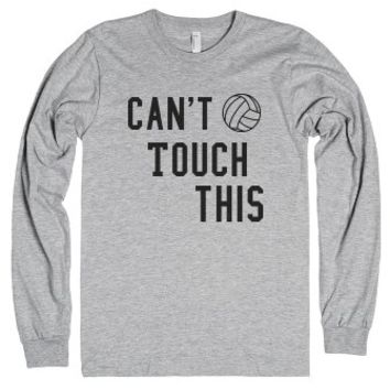 Can't Touch This-Unisex Heather Grey T-Shirt