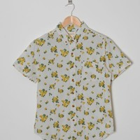 Short Sleeve Low End Flower Shirt