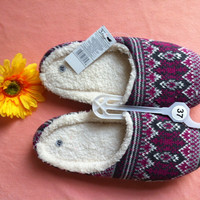 Winter Ladies Shoes Cotton Slippers [8102200129]