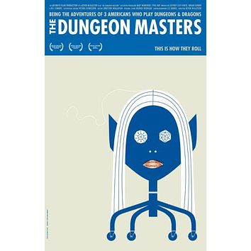 Dungeon Masters Movie Poster11 x 17 inch
