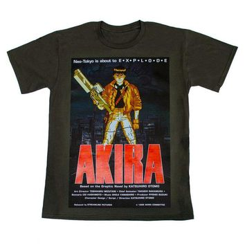 Anime T-Shirt cosplay Fashion 2018 Summer AKIRA MANGA T SHIRT - JAPANESE ANIME KANEDA - (S-2XL) AWESOME HIGH QUALITY PRINT High Quality Casual Clothin AT_57_4