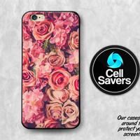 Roses iPhone 6s Case iPhone 7 Plus iPhone 6 Plus iPhone 6s Plus iPhone 5c iPhone 5 iPhone SE Case Pink Roses Flowers Daisies Cute Tumblr New