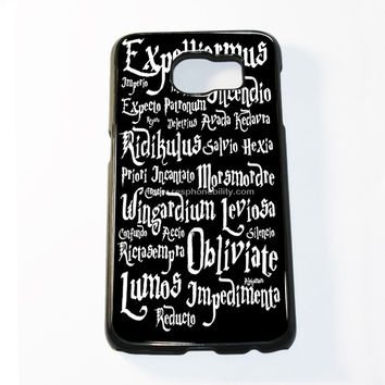 Harry Potter Black Magic Samsung Galaxy S6 and S6 Edge Case