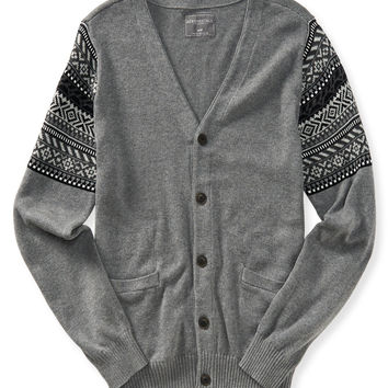 Aeropostale  Fair Isle Accent Cardigan