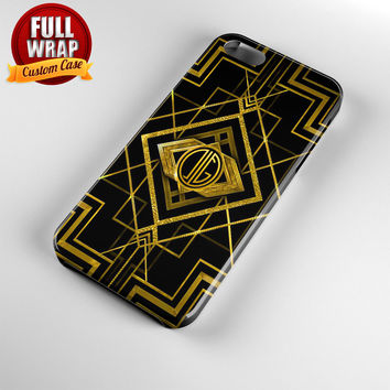 The Great Gatsby Logo Full Wrap Phone Case For iPhone, iPod, Samsung, Sony, HTC, Nexus, LG, and Blackberry