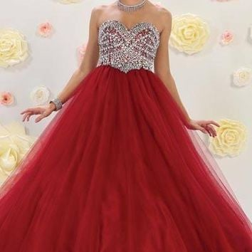 Ball gown Quinceanera sweet 15 prom dress mq-lk70 - CLOSEOUT