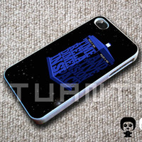 My type of Tardis For Iphone 4/4s, Iphone 5/5S/5C, Samsung S3/S4 Case Cover in atuante