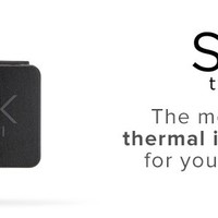 Seek Compact Thermal Imager for iOS (Apple), Black