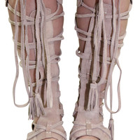 Free People Sun Seeker Womens Caged Gladiator Sandals
