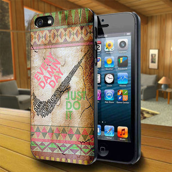 Nike Every Just Damn - Print on Hard Cover For iPhone 4/4S and iPhone 5 Case - Please Leave Message For Device And Colour Case