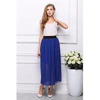 2016 New Fashion Summer Style Long Maxi Skirts Womens  Clothes Women Tops