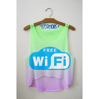 Wifi cris cros Crop top
