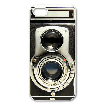 Vintage Camera Iphone 5 Case Iphone 4/4s by PersonalizedPenquin